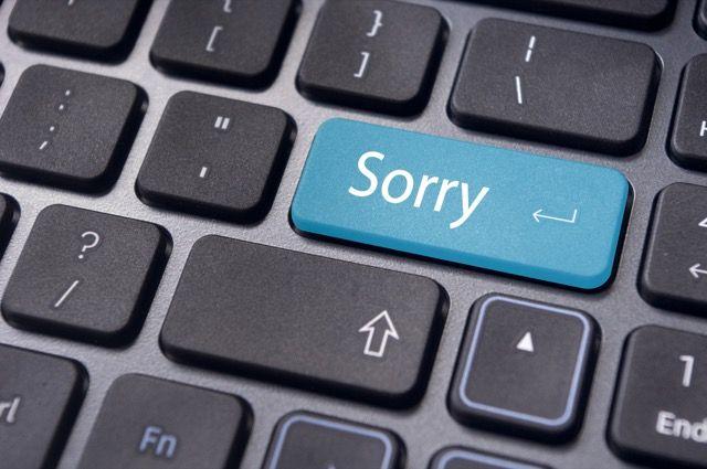 sorry-key