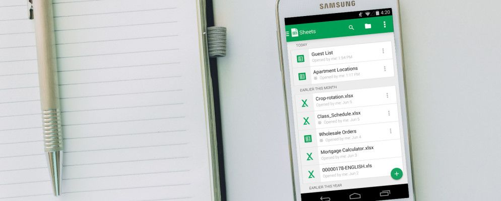 The 5 Best Spreadsheet Apps for Android