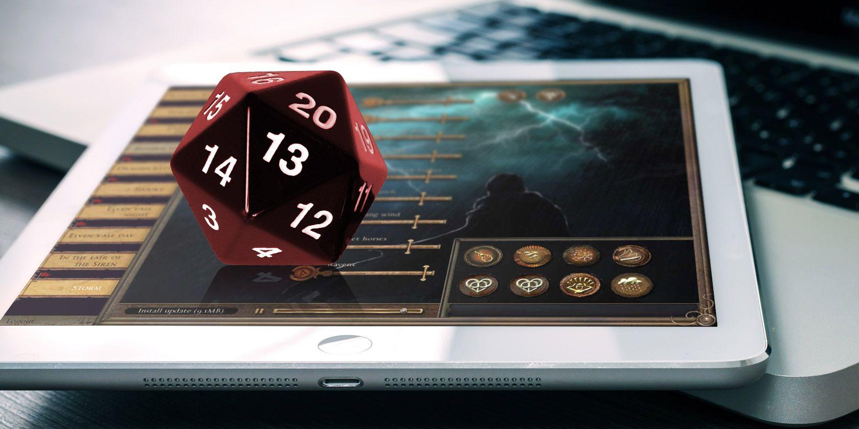 tabletop RPG-aplikacije