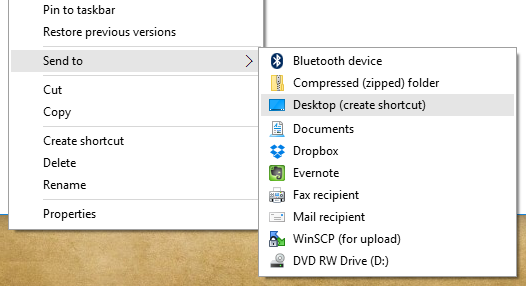 windows-create-shortcut-easier-1