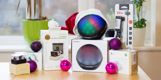 The Big MakeUseOf Christmas Gadget Bundle Giveaway
