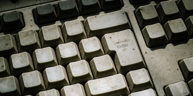 A Simple Trick for Cleaning Under Your Keyboard's Keys