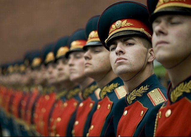 Honor Guard in Russia