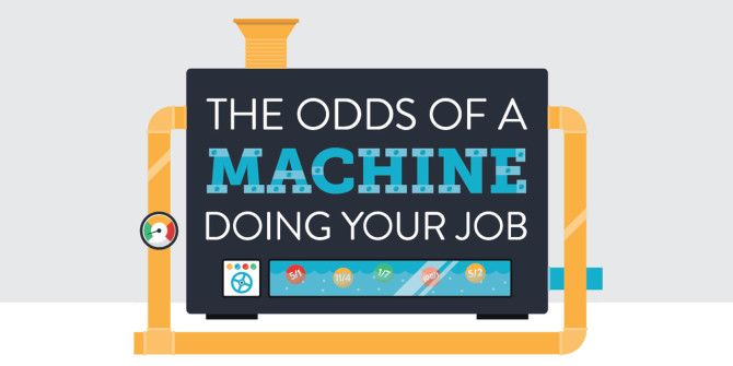 What Are The Chances That A Machine Takes Your Job?
