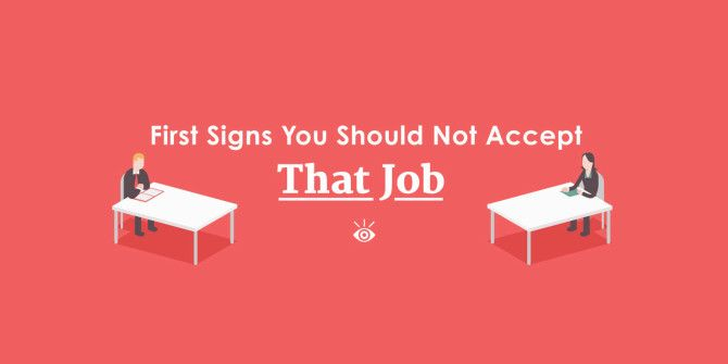 Think Before You Sign – Not All Job Offers Are Good