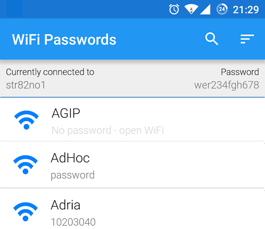 WiFi-Passwords-App