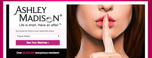 The Ashley Madison adult dating site breach