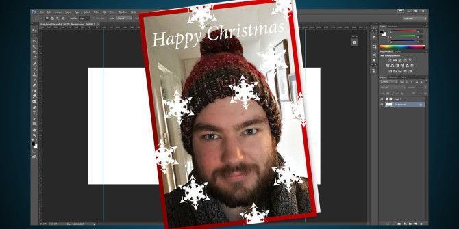 How to Make Your Own Christmas Card in Photoshop