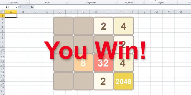 6 Iconic Games Recreated in Microsoft Excel