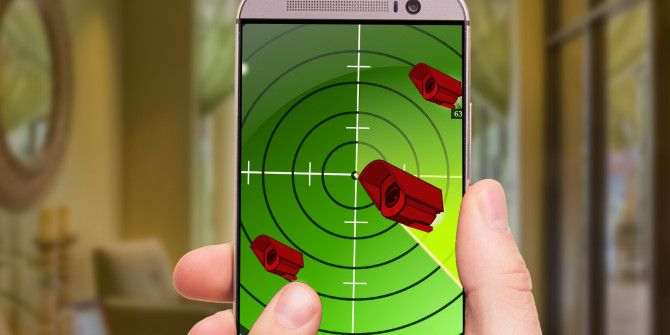 Smartphones Can Detect Hidden Cameras