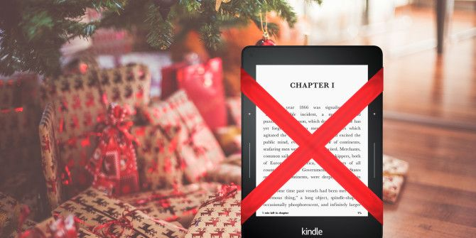 4 Reasons to Avoid Buying an E-Reader This Christmas