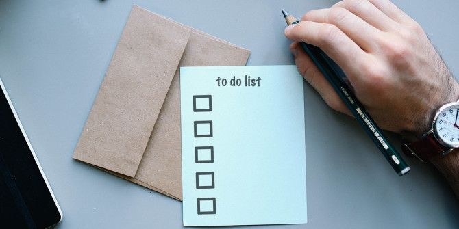 7 Tips to Better Manage Your To Do List