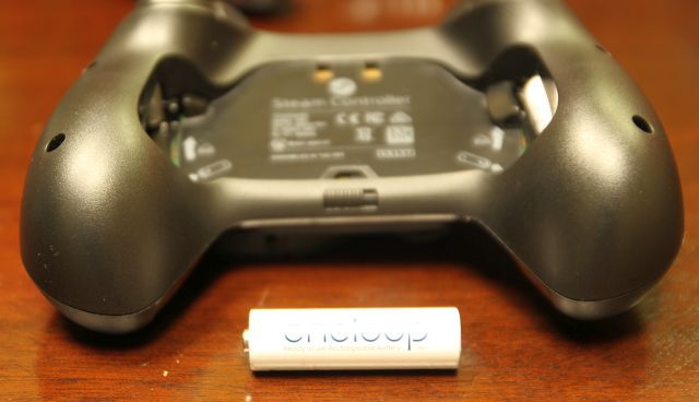 rechargeable battery steam controller