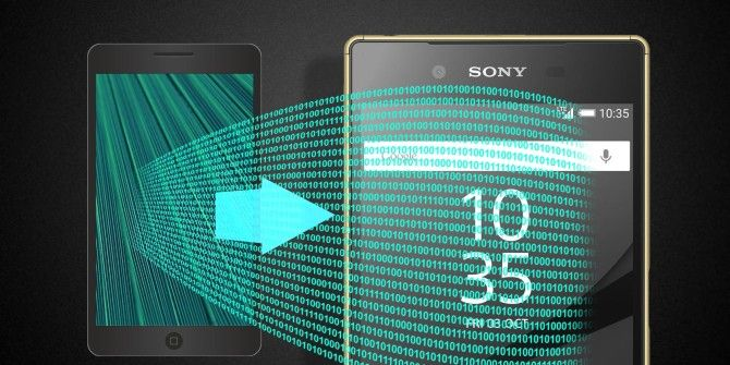 How to Switch to a Sony Xperia Using Xperia Transfer
