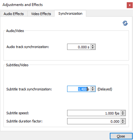 vlc-subtitle-synchronization-overview