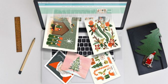 Your Own Christmas Cards with These 6 Websites