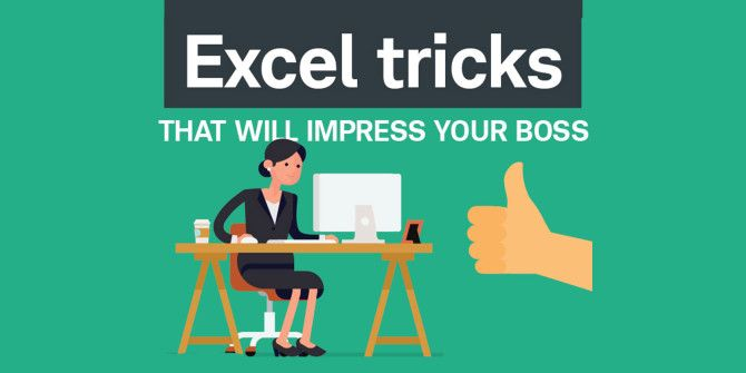 Be The Smartest Person At Work With These Excel Tricks