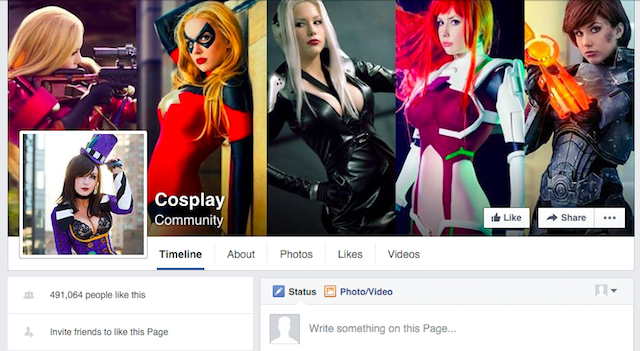 Facebook-Geeky-Pages-Cosplay-Heaven