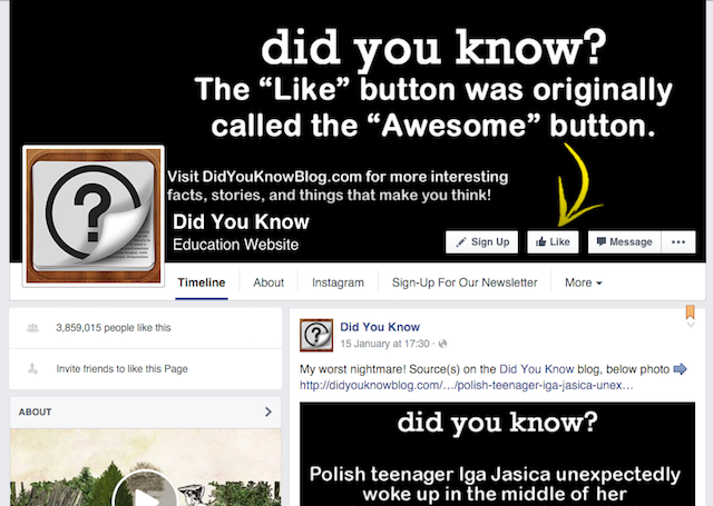 Facebook-Geeky-Pages-DidYouKnow