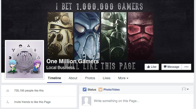 Facebook-Geeky-Pages-One-Million-Gamers