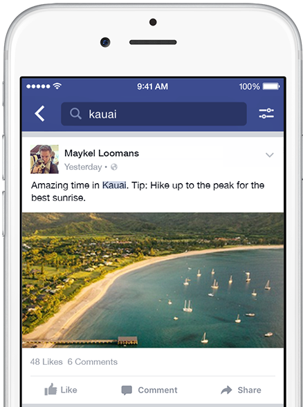 How To Search For A photo on Facebook