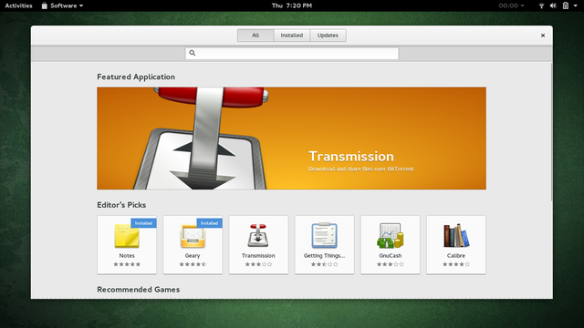 LinuxEasierSetupWindows-GNOME-Software