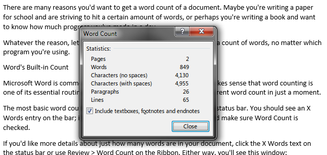 MS-Word-Word-Count-Window