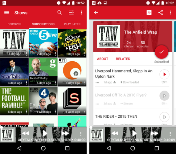 The 8 Best Podcast Players For Android