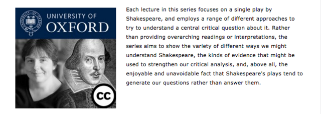 Shakespeare Course