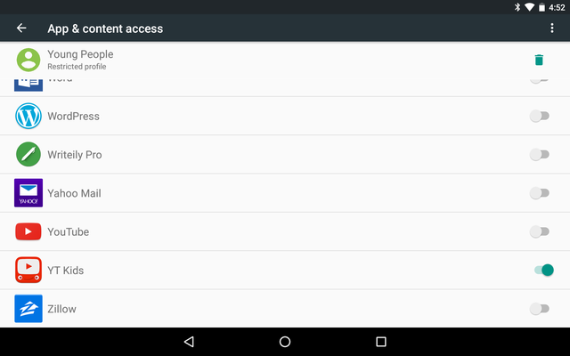 ShareAndroidTablet-Restrict-Apps
