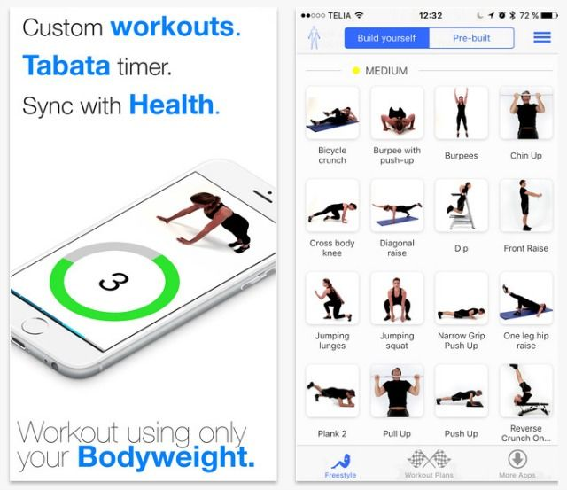 Workout Calendar App : The best body weight exercise apps for fitness anywhere