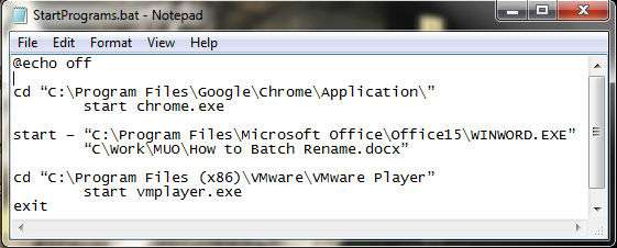 How To Use Windows Batch File Commands To Automate Repetitive Tasks