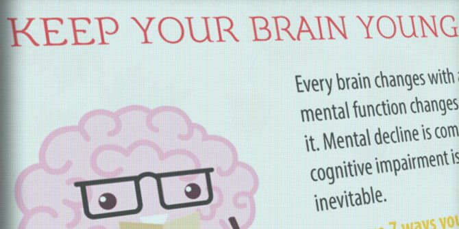 Keep Your Brain Young for the Long Haul