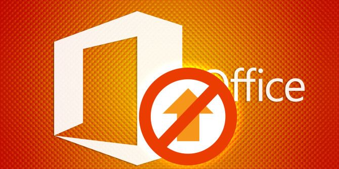 How to Disable the Microsoft Office Upload Center
