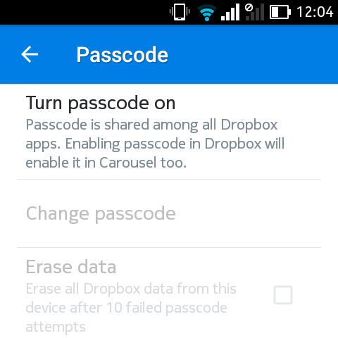 dropbox-passcode-android