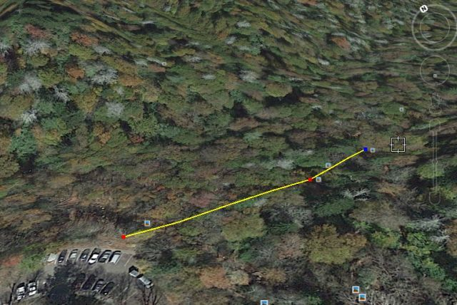 How To Measure Area And Distance In Google Maps Earth - Google maps trails