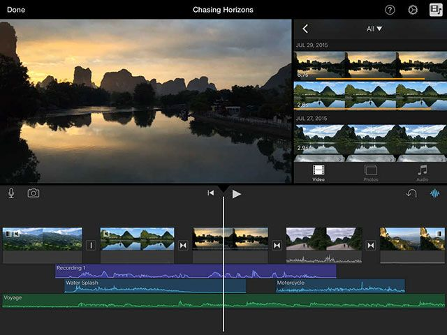 Can the iPad Pro Replace Your Laptop? imovie ipad