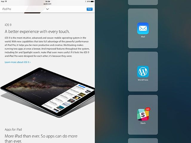 Can the iPad Pro Replace Your Laptop? ios9 1