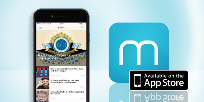 Download the New MakeUseOf App for Your iPhone