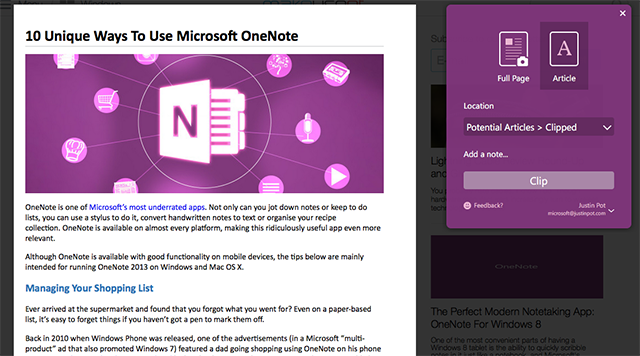 onenote-clipper-web