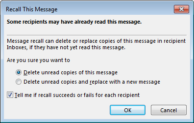 10 Quick Tips to Get Better at Outlook recall this message 2