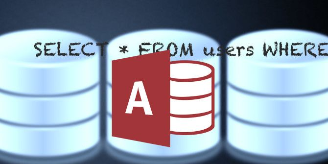 How To Write Microsoft Access SQL Queries From Scratch