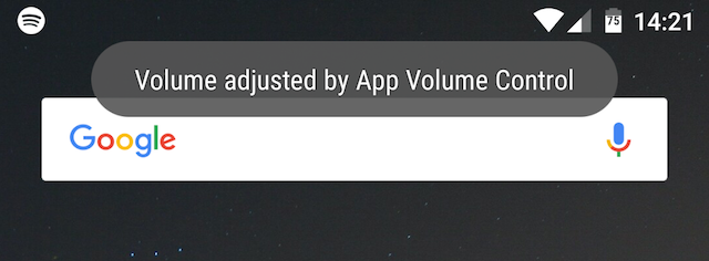 volume adjusted