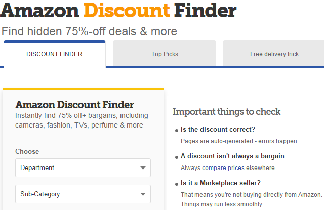 Amazon-Discount-Finder-UK