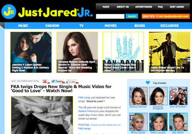 Best-Celebrity-Entertainment-Gossip-Websites-Just-Jared-Jr