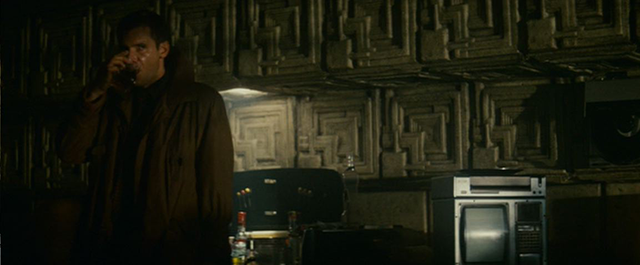 Blade Runner Interior of Deckard's Apartment