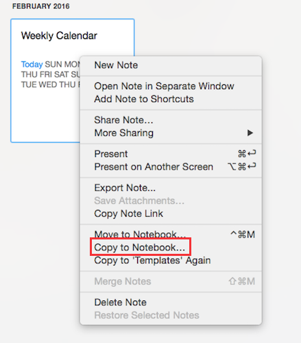 How 6 simple evernote templates boost my daily productivity duplicatecalendar maxwellsz