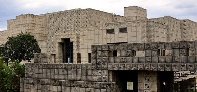 Ennis House Front View 2005