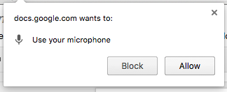 MicrophonePermission