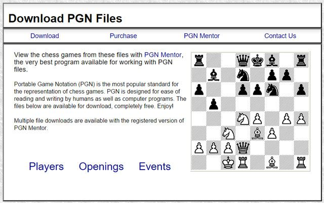 Download PGN Files